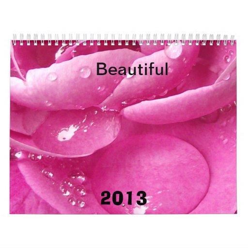 Beautiful the Calendar for 2013 year