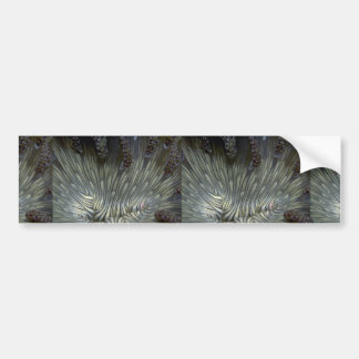 Beautiful The mouth of a ringed anemone Bumper Stickers