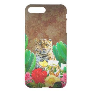 Beautiful Tiger Cactus Floral Scene iPhone 8 Plus/7 Plus Case