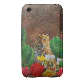 Beautiful Tiger Cactus Flowers iPhone 3 Case-Mate Case
