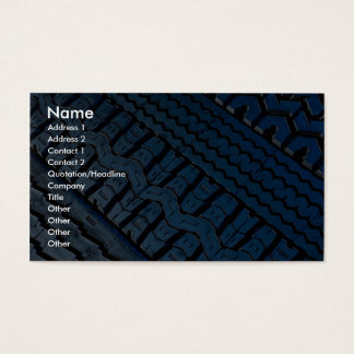 Beautiful Tire tread pattern Business Card