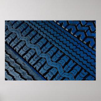 Beautiful Tire tread pattern Print
