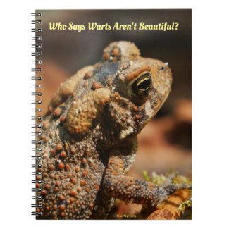 Beautiful Toad Notebook