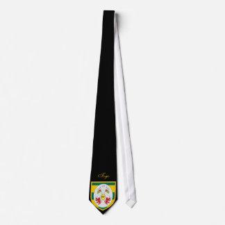 Beautiful Togo Flag Coat Arm Tie