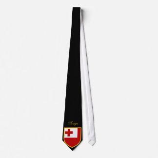 Beautiful Tonga islands Flag Neck Tie