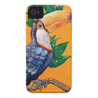 Beautiful Toucan Bird Painting iPhone 4 Case-Mate Case