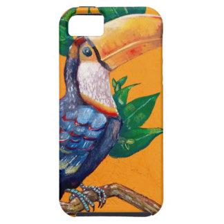 Beautiful Toucan Bird Painting iPhone SE/5/5s Case