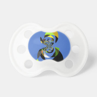 Beautiful traditional seamless Woman of Colors Pacifier