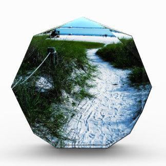 Beautiful trail To The Sea Acryllic Award