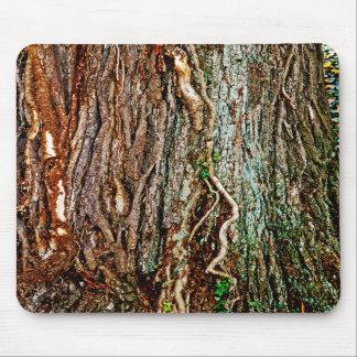 Beautiful Tree Bark Texture Mousepad