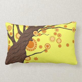 Beautiful Tree Vector Nature Design Throw Pillows