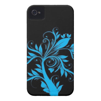 beautiful tree with hearts and birds iPhone 4 cover