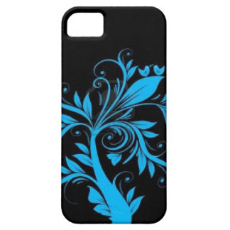 beautiful tree with hearts and birds iPhone SE/5/5s case