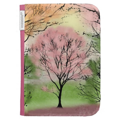 Beautiful Trees Kindle Case-Customizable Cases For The Kindle