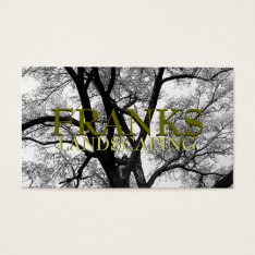 Beautiful Trees Nature Business Cards at Zazzle