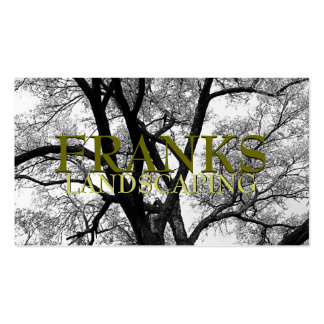 Beautiful Trees Nature Business Cards