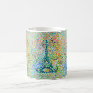 Beautiful trendy girly vintage Eiffel Tower France Classic White Coffee Mug