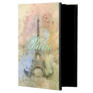 Beautiful trendy girly vintage Eiffel Tower France Powis iPad Air 2 Case