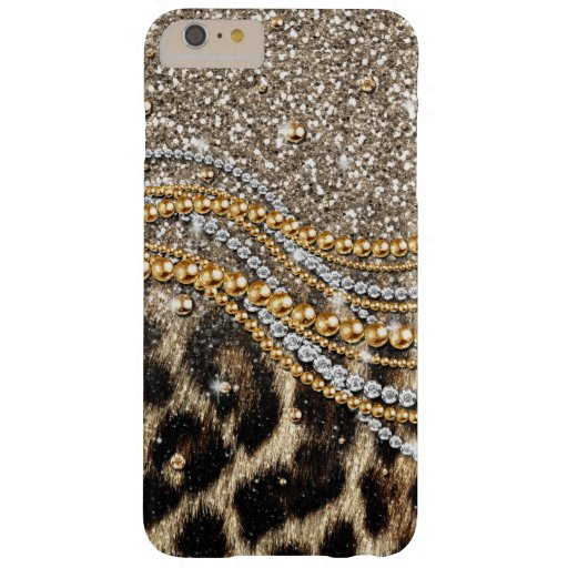 Girly Leopard Monogram iPhone 6 Plus case