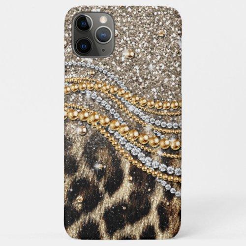 Beautiful Trendy Leopard Faux Animal Print Phone Case