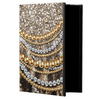 Beautiful trendy leopard faux animal print powis iPad air 2 case