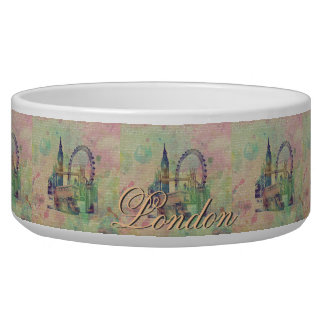 Beautiful trendy Vintage London Landmarks Bowl