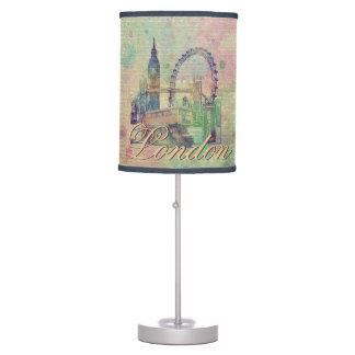Beautiful trendy Vintage London Landmarks Table Lamp