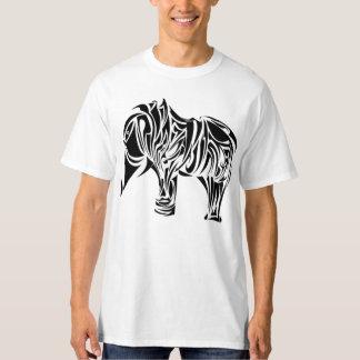 Beautiful Tribal Elephant Tattoo Design T-Shirt