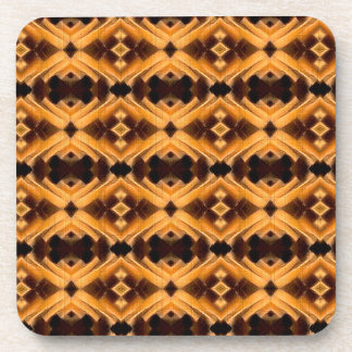 Beautiful Tribal Inspired Pattern Drink Coaster