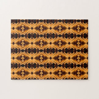 Beautiful Tribal Inspired Pattern Jigsaw Puzzles