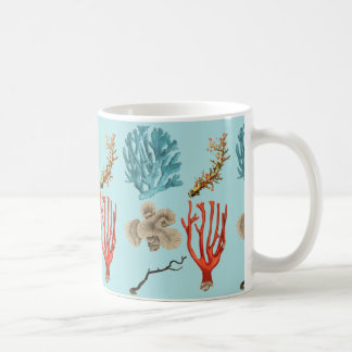 Beautiful tropical corals for scuba divers coffee mug