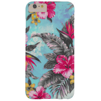 Beautiful tropical floral paint watercolours barely there iPhone 6 plus case