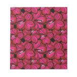 Beautiful Tropical Hibiscus - Pink, Fuscia or Mult Memo Note Pads