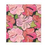 Beautiful Tropical Hibiscus - Pink, Fuscia or Mult Memo Pads