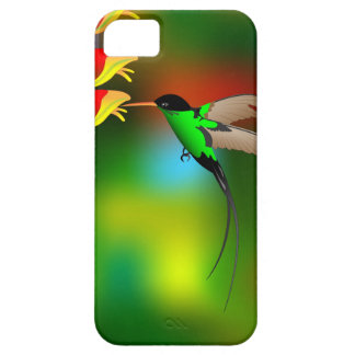 Beautiful Tropical Hummingbird Floral iPhone 5 5S iPhone SE/5/5s Case