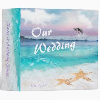 BEAUTIFUL TROPICAL OCEAN SUNRISE Photo ALBUM 3 Ring Binder