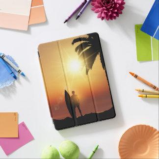 Beautiful Tropical Sunset Surfer iPad Air Case