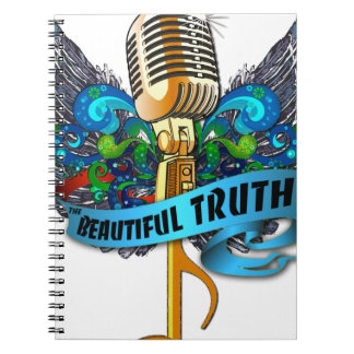 Beautiful Truth Microphone and Note Spiral Notebook