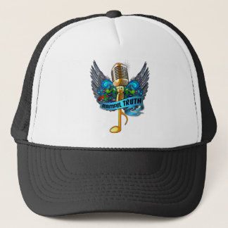 Beautiful Truth Microphone and Note Trucker Hat