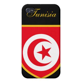 Beautiful Tunisia Flag iPhone 4 Case