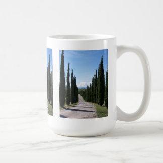 Beautiful Tuscan Cypress Coffee Mug