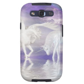 Beautiful Unicorn and Pegasus Fantasy Samsung Galaxy SIII Cases