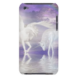 Beautiful Unicorn and Pegasus Fantasy iPod Touch Case