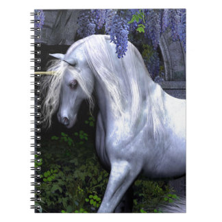 Beautiful Unicorn Spiral Notebook