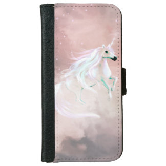 Beautiful unicorn wallet phone case for iPhone 6/6s