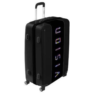 Beautiful unique custom vision luggage