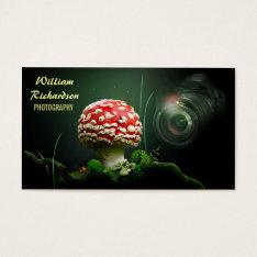 beautiful unique design photographer business business card at Zazzle