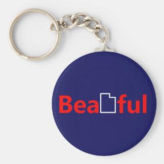 Beautiful Utah Keychain