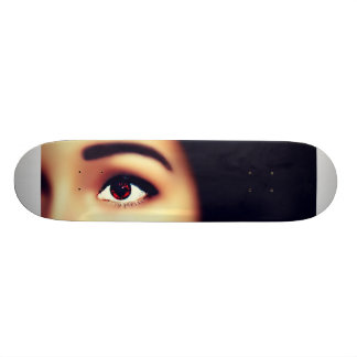 Beautiful Vampire Girl Skateboard