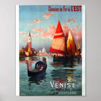Beautiful Venice Italy Poster